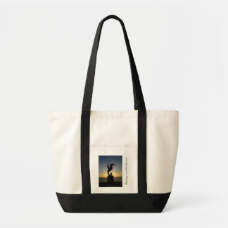 Boy Riding Seahorse; Customizable Bag