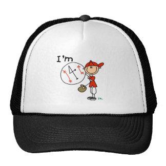 Boy s Baseball I m 4 Tshirts and Gifts Hat