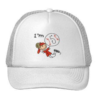 Boy s Baseball I m 5 Tshirts and Gifts Trucker Hats