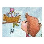 Boy's Birdhouse Gift-Home Tweet Home Postcard