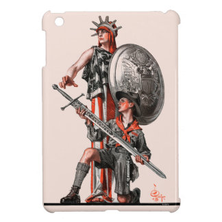 Boy Scout and Liberty Cover For The iPad Mini