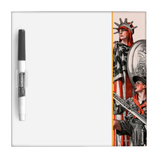 Boy Scout and Liberty Dry Erase White Board