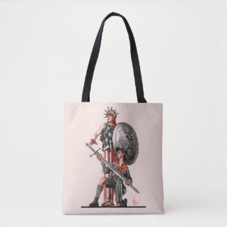 Boy Scout and Liberty Tote Bag
