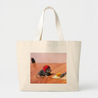 Boy Scout Mouse Jumbo Tote Bag
