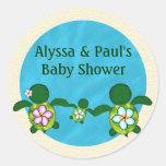 BOY Sea TURTLE Baby Shower (Honu) 02B blank #02