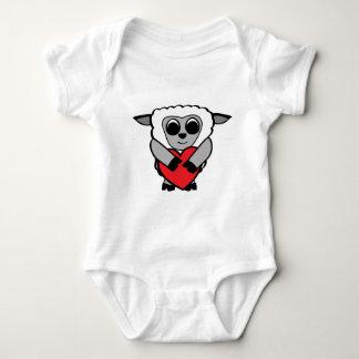 Boy Sheep with Big Heart Tshirts