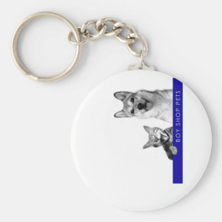 Boy Shop Pets Discography Round Keychain