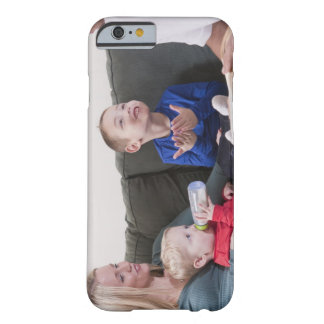 Boy signing the word 'Book' in American Sign Barely There iPhone 6 Case
