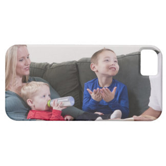 Boy signing the word 'Book' in American Sign iPhone 5 Cover