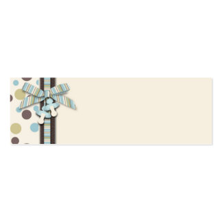 Boy Skinny Gift Tag 2 Pack Of Skinny Business Cards