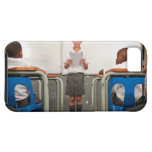 Boy standing in front of class reading in iPhone 5 cases