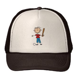 Boy Stick Figure Hat