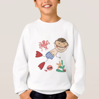 Boy Swimming T-shirts and Gifts