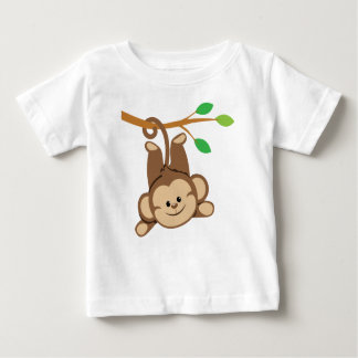 Boy Swinging Monkey Baby T-Shirt
