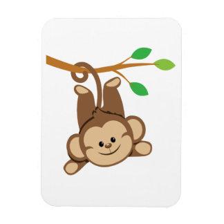 Boy Swinging Monkey Magnets