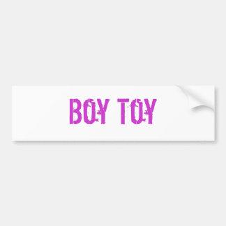 Boy Toy Bumper Sticker Car Bumper Sticker