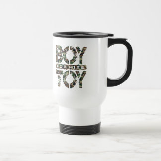 BOY TOY For Hire - Available For Sugar Daddy, Camo Stainless Steel Travel Mug