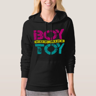 BOY TOY For Hire - Available For Sugar Daddy, Neon Hooded Pullovers