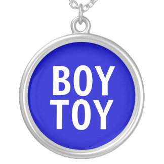 """Boy Toy"" Pendant Necklace"