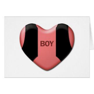 """""""boy"""" Valentine Card"""