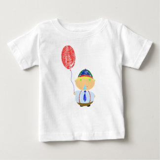 Boy with Balloon Toddler T-Shirt