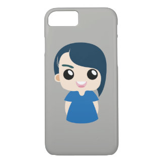 boy with long hair iPhone 8/7 case