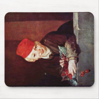 Boy With The Cherries By Manet Edouard Mousepad