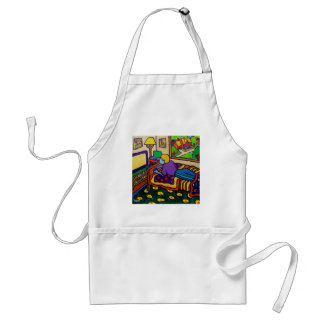 Boy with Toy Standard Apron