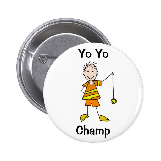 Boy with Yo Yo 6 Cm Round Badge