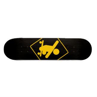 """""""Boy Without Legs Crossing"""" Skateboard"""