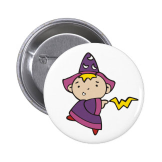Boy Wizard 6 Cm Round Badge
