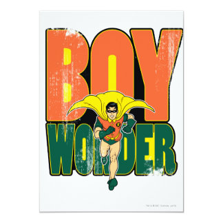 Boy Wonder Graphic Card