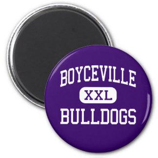 Boyceville - Bulldogs - Community - Boyceville Refrigerator Magnet