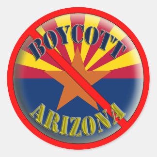 Boycott Arizona Stickers