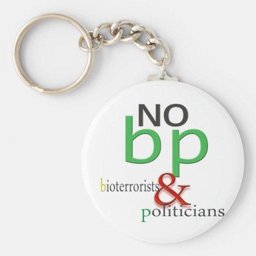 Boycott BP oil spill Keychains