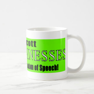 Boycott Companies that Suppress Freedom of Speech Coffee Mugs