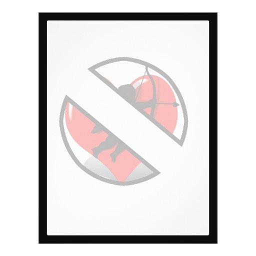 BOYCOTT CUPID! (on white) Custom Flyer