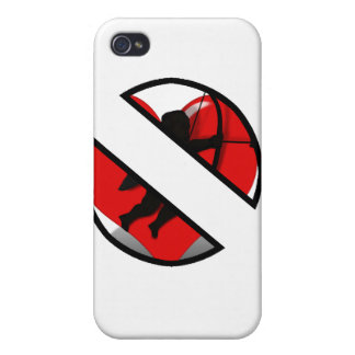 BOYCOTT CUPID on white iPhone 4/4S Covers