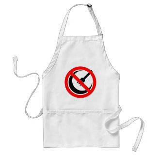 Boycott Halal Restaurants and Grocers Standard Apron
