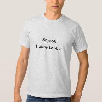 Boycott Hobby Loby t-shirt