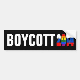 Boycott Sochi / Russia 2014 Bumper Stickers