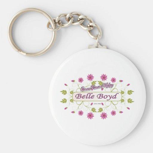 Boyd ~ Belle Boyd ~ Famous American Women Keychain