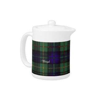 Boyd clan Plaid Scottish kilt tartan