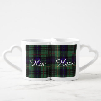Boyd clan Plaid Scottish kilt tartan Coffee Mug Set