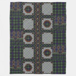 Boyd clan Plaid Scottish kilt tartan Fleece Blanket