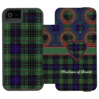 Boyd clan Plaid Scottish kilt tartan Incipio Watson™ iPhone 5 Wallet Case