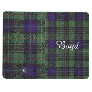 Boyd clan Plaid Scottish kilt tartan Journal