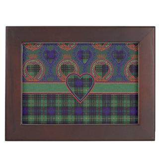 Boyd clan Plaid Scottish kilt tartan Keepsake Box