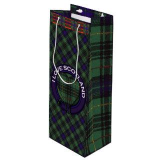 Boyd clan Plaid Scottish kilt tartan Wine Gift Bag