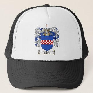 BOYD FAMILY CREST -  BOYD COAT OF ARMS TRUCKER HAT